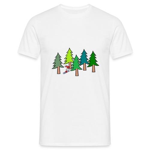 foretskieurcouleurcentrefatpropre5transp - T-shirt Homme