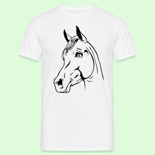 tête de cheval - T-shirt Homme