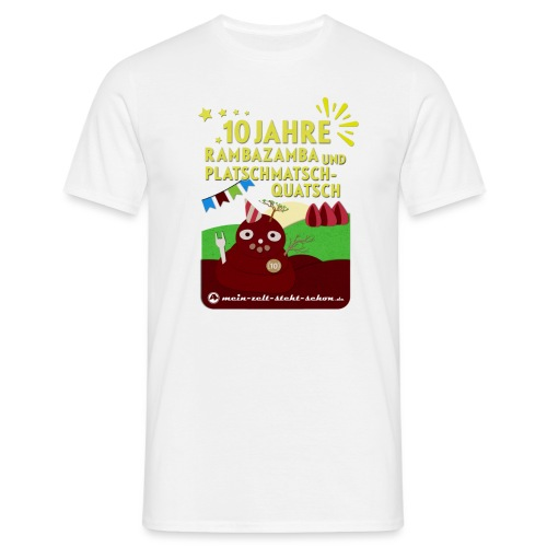 10 Jahre mzss - Männer T-Shirt