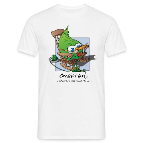 Omakraut - Männer T-Shirt
