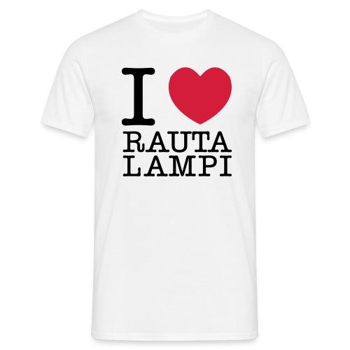 iloverautalampi2 - Miesten t-paita