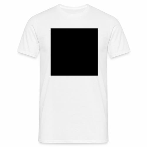 Black - T-shirt herr