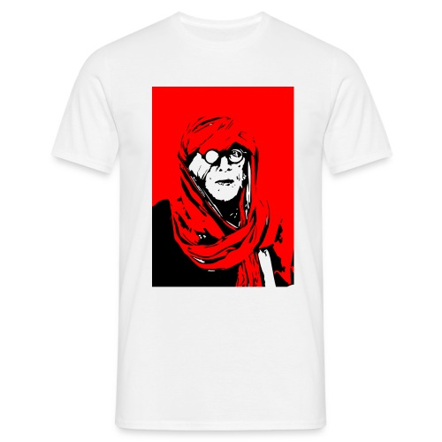 L'homme rouge représente la terre rouge d'Afrique. - T-shirt Homme