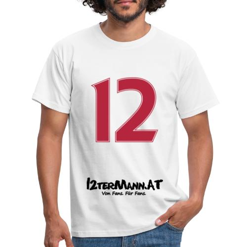 12termann mitfans - Männer T-Shirt