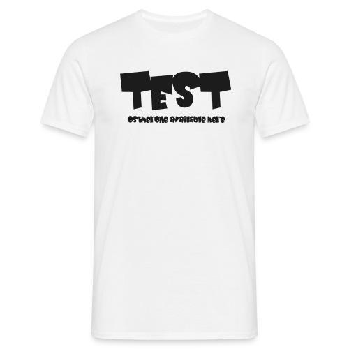 Testhosterone - Maglietta da uomo