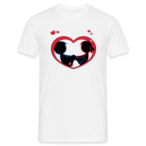 lovers - Mannen T-shirt