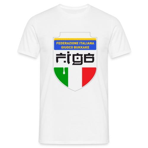 figb no anelli - Maglietta da uomo
