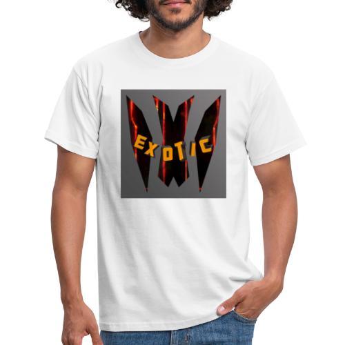 Exotic-Logo - Männer T-Shirt