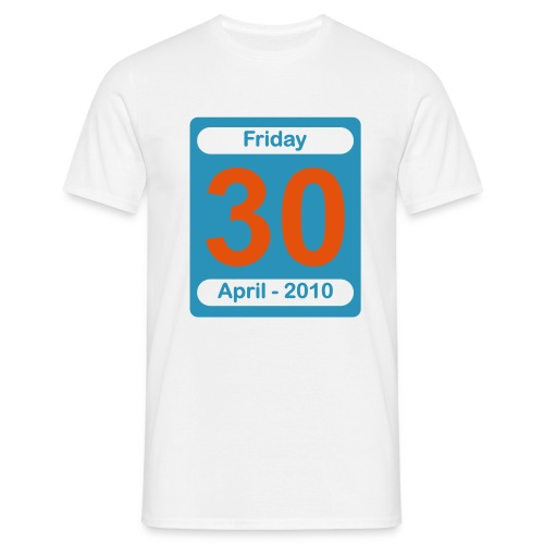 30 April 2010 - Men's T-Shirt