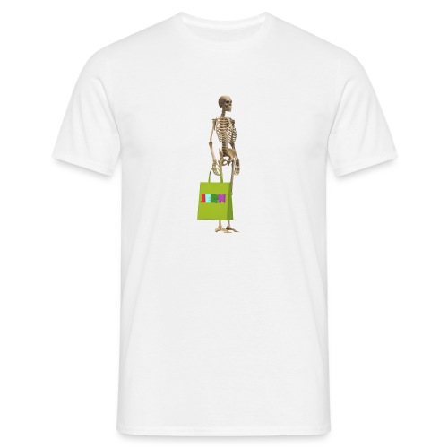 Shopping skeleton - Men's T-Shirt