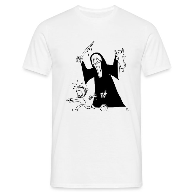 halloween t-skjorte