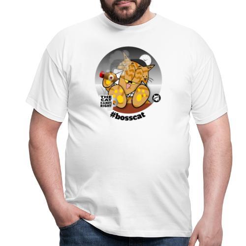 #bosscat - Männer T-Shirt