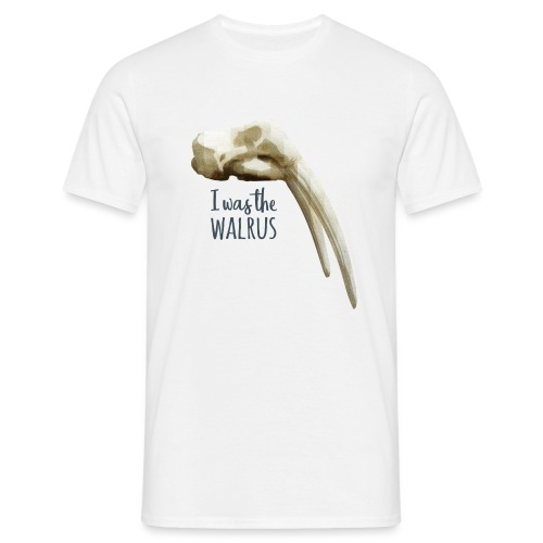 I was the walrus - Mannen T-shirt