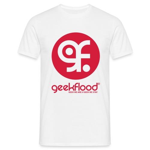 Geekflood logo - T-shirt Homme