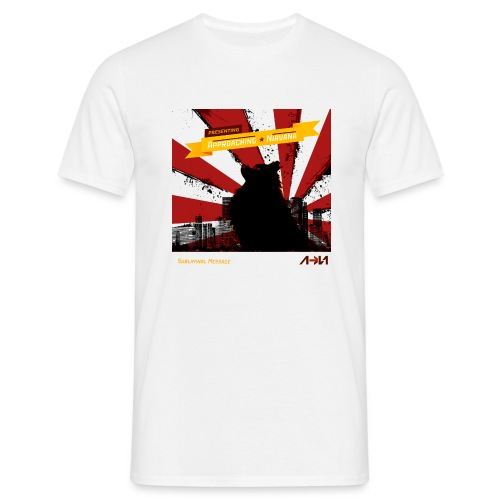 subliminal message shirt - Men's T-Shirt
