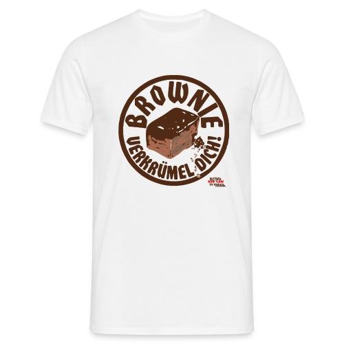 Brownie verkruemel Dich Storch Heinar - Männer T-Shirt