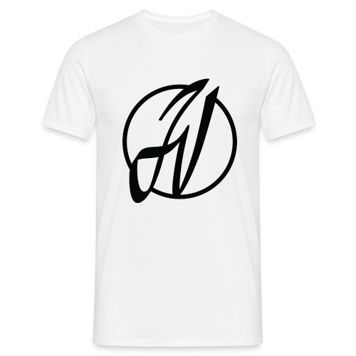 JV Guitars - logo noir - T-shirt Homme