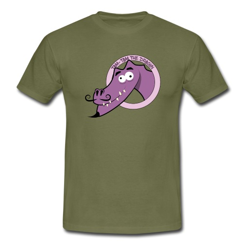 Tam-Tam The Dragon - Herre-T-shirt
