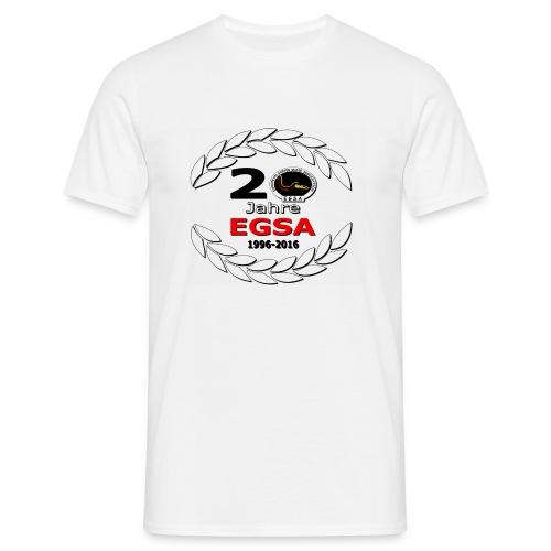 Logo 20 Jahre EGSA3000A - Männer T-Shirt