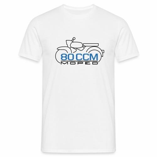 Moped Sperber Habicht 80 ccm Emblem - Men's T-Shirt