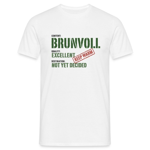 content brunvoll - T-skjorte for menn