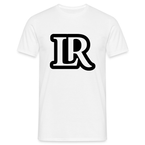 l and r logo - Men's T-Shirt