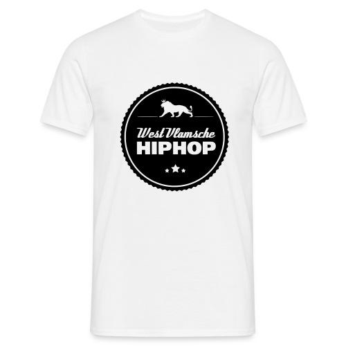 WVHHlogobigWhite png - Mannen T-shirt