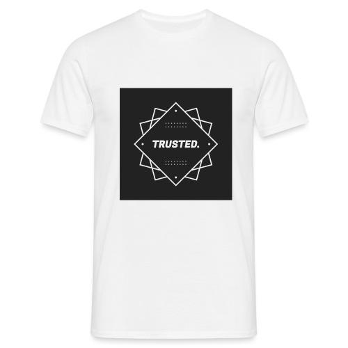 Trusted Logo - Männer T-Shirt