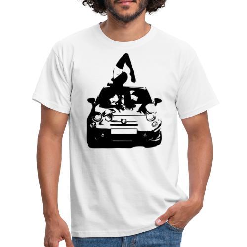 500 Pinup - T-skjorte for menn