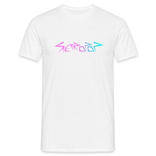 Retropop - Logo värillinen - Miesten t-paita
