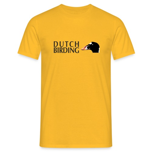 brilzeeend dutchbirding - Mannen T-shirt