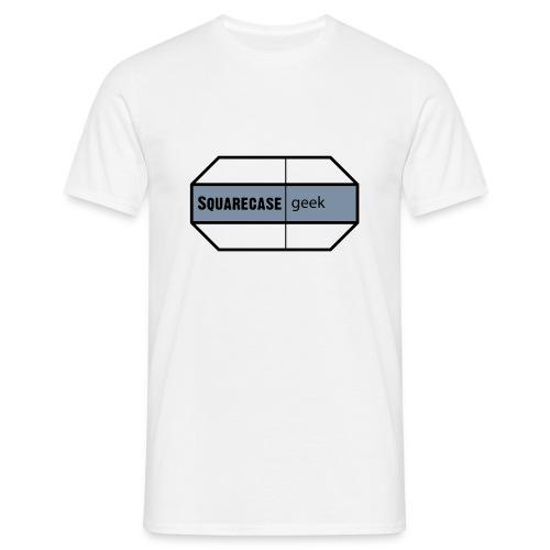 squarecase geek - Men's T-Shirt