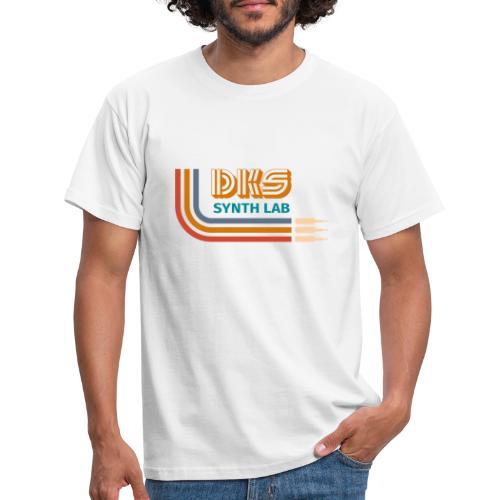 DKS SYNTH LAB curved Orange - Maglietta da uomo