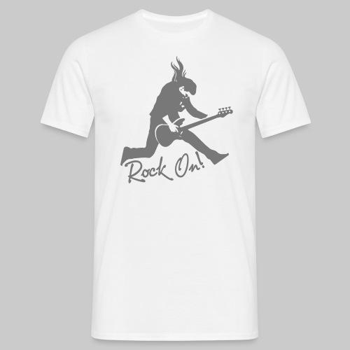 Rock On Nr. 2 - Männer T-Shirt