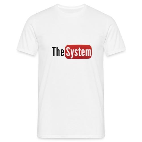 The System YouTube - Maglietta da uomo