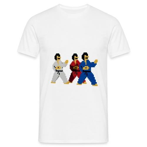 8 bit trip ninjas 1 - Men's T-Shirt
