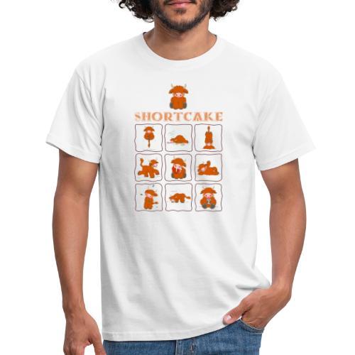 Shortcake - Multiview - Männer T-Shirt