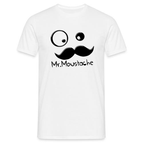 Logo Moustache png - T-shirt Homme