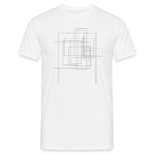 abstract - Mannen T-shirt