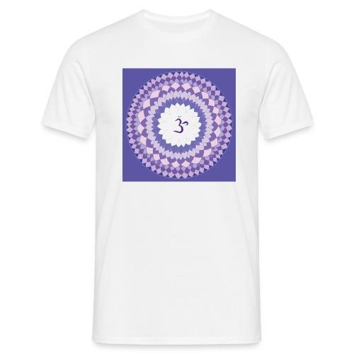Sahasrara - Crown Chakra - Miesten t-paita