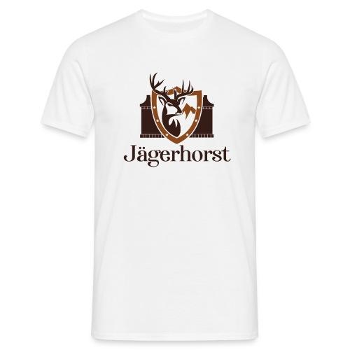 Jägerhorst Logo - Männer T-Shirt