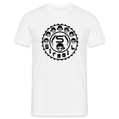 rawstyles rap hip hop logo money design by mrv - Koszulka męska