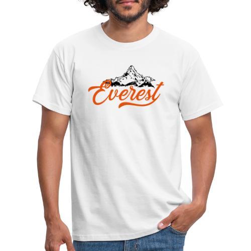 EVEREST script - Maglietta da uomo