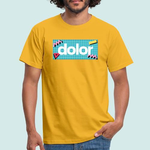 dolor retro - Männer T-Shirt