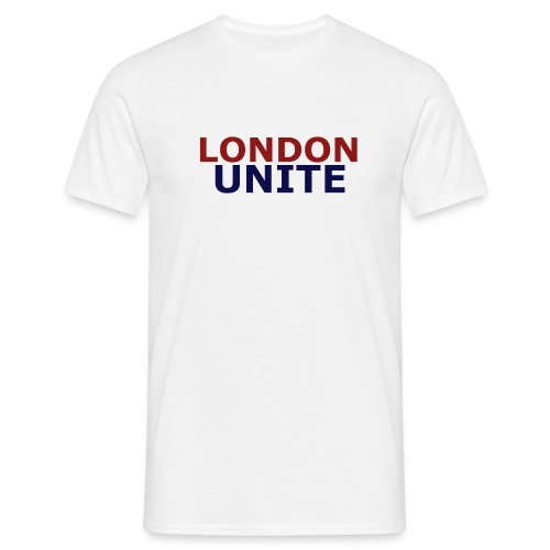London Unite White T-Shirt - Men's T-Shirt