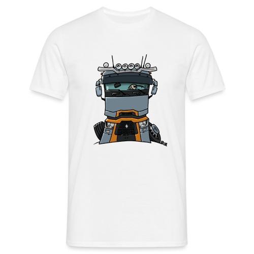 0813 R truck - Mannen T-shirt