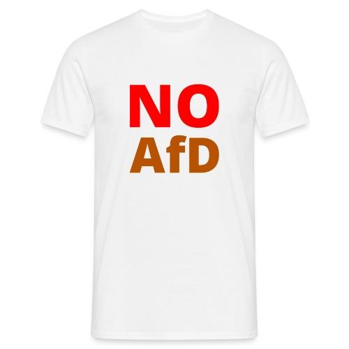 No AfD Keine AfD - Männer T-Shirt