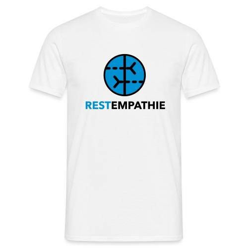 Restempathie Logo - Männer T-Shirt