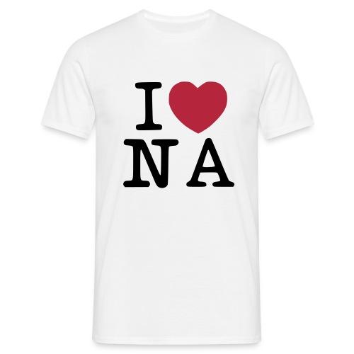 I Love Naples Design - Maglietta da uomo