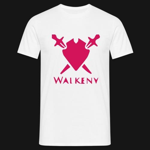 Das Walkeny Logo mit dem Schwert in PINK! - Männer T-Shirt